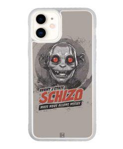 Coque iPhone 11 – Gollum Schizo