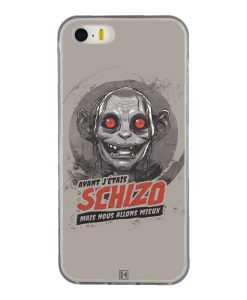 Coque iPhone 5/5s/SE – Gollum Schizo