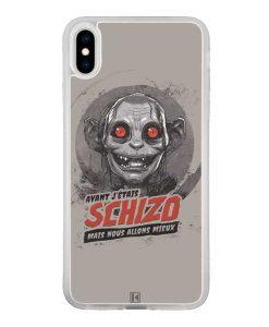 Coque iPhone Xs Max – Gollum Schizo