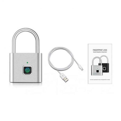 theklips-cadenas-biometrique-argent-detail-4