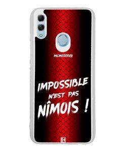 Coque Honor 10 Lite – Impossible n'est pas Nîmois