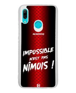 Coque Huawei P Smart 2019 – Impossible n'est pas Nîmois