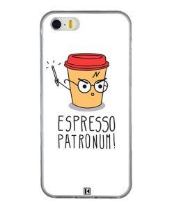 Coque iPhone 5/5s/SE – Espresso Patronum