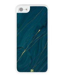 Coque iPhone 5c – Dark blue marble