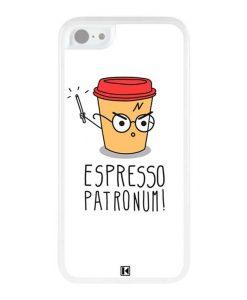 Coque iPhone 5c – Espresso Patronum