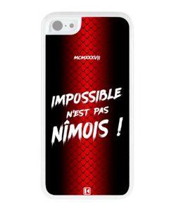 Coque iPhone 5c – Impossible n'est pas Nîmois