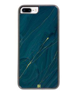 Coque iPhone 7 Plus / 8 Plus – Dark blue marble