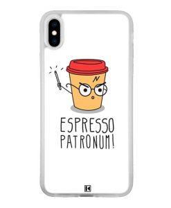 Coque iPhone Xs Max – Espresso Patronum