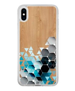theklips-coque-iphone-x-xs-max-blue-triangles-on-wood
