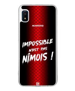Coque Galaxy A10e – Impossible n'est pas Nîmois