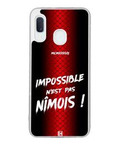 Coque Galaxy A20e – Impossible n'est pas Nîmois