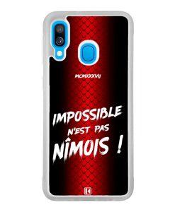 Coque Galaxy A40 – Impossible n'est pas Nîmois