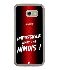 Coque Galaxy A5 2017 – Impossible n'est pas Nîmois