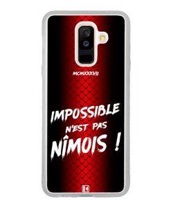 Coque Galaxy A6 Plus – Impossible n'est pas Nîmois