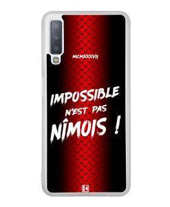 Coque Galaxy A7 2018 – Impossible n'est pas Nîmois