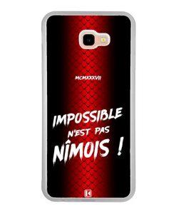 Coque Galaxy J4 Plus – Impossible n'est pas Nîmois