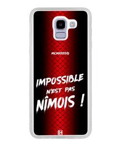 Coque Galaxy J6 2018 – Impossible n'est pas Nîmois