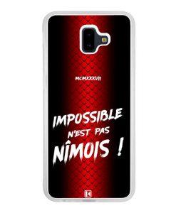 Coque Galaxy J6 Plus – Impossible n'est pas Nîmois