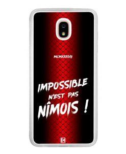 Coque Galaxy J7 2018 – Impossible n'est pas Nîmois