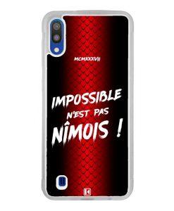Coque Galaxy M10 – Impossible n'est pas Nîmois