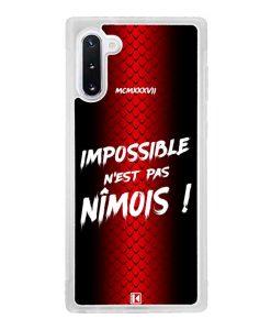 Coque Galaxy Note 10 – Impossible n'est pas Nîmois