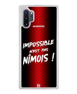 Coque Galaxy Note 10 Plus – Impossible n'est pas Nîmois