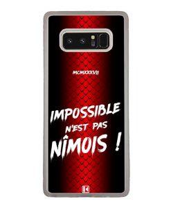 Coque Galaxy Note 8 – Impossible n'est pas Nîmois