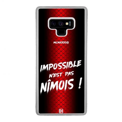 Coque Galaxy Note 9 – Impossible n'est pas Nîmois