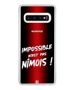 Coque Galaxy S10 – Impossible n'est pas Nîmois
