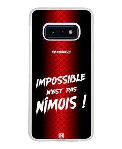 Coque Galaxy S10e – Impossible n'est pas Nîmois
