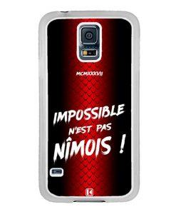 Coque Galaxy S5 – Impossible n'est pas Nîmois