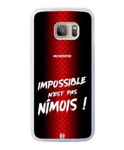 Coque Galaxy S7 Edge – Impossible n'est pas Nîmois