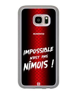 Coque Galaxy S7 – Impossible n'est pas Nîmois