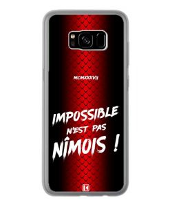 Coque Galaxy S8 Plus – Impossible n'est pas Nîmois
