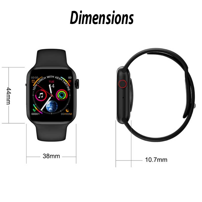 theklips-montre-sport-connectee-smart-watch-5-noir-dimensions