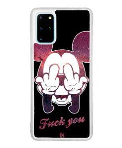 Coque Galaxy S20 Plus – Mickey Fuck You