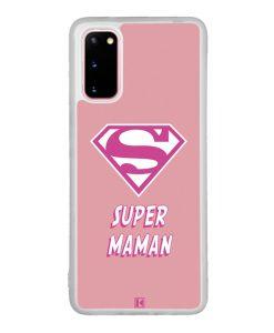 Coque Galaxy S20  – Super Maman