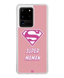 Coque Galaxy S20 Ultra – Super Maman