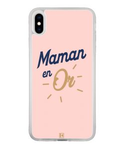 Coque iPhone Xs Max – Maman en Or