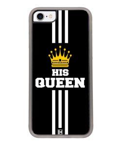 Coque iPhone SE (2020) – His Queen