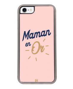 Coque iPhone SE (2020) – Maman en Or