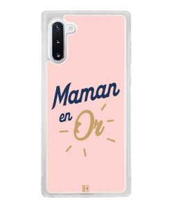 Coque Galaxy Note 10 – Maman en Or