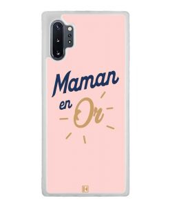 Coque Galaxy Note 10 Plus – Maman en Or
