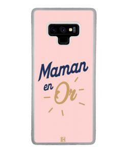 Coque Galaxy Note 9 – Maman en Or