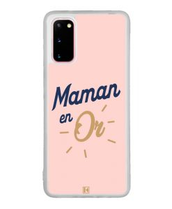 Coque Galaxy S20 – Maman en Or