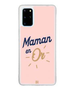 Coque Galaxy S20 Plus – Maman en Or