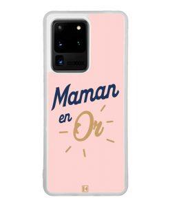 Coque Galaxy S20 Ultra – Maman en Or