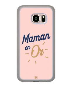 Coque Galaxy S7 – Maman en Or