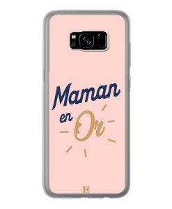 Coque Galaxy S8 Plus – Maman en Or