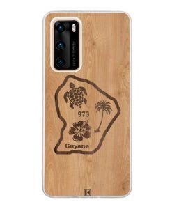 Coque Huawei P40  – Guyane 973